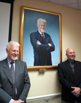 Van Dyke, his portrait, and Paul Morin