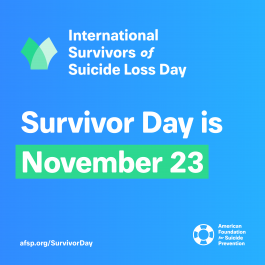 Survivor Day is November 23