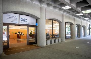 Ambulatory Services Center entrance