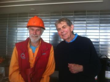 Mark di Suvero and Samuel Barondes, MD