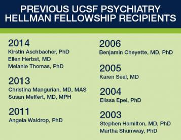 Previous UCSF Psychiatry Hellman Fellows