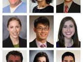 New chief residents and fellows
